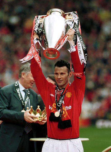 How Much Do You Know About Ryan Giggs? Giggs trophy stu forster getty