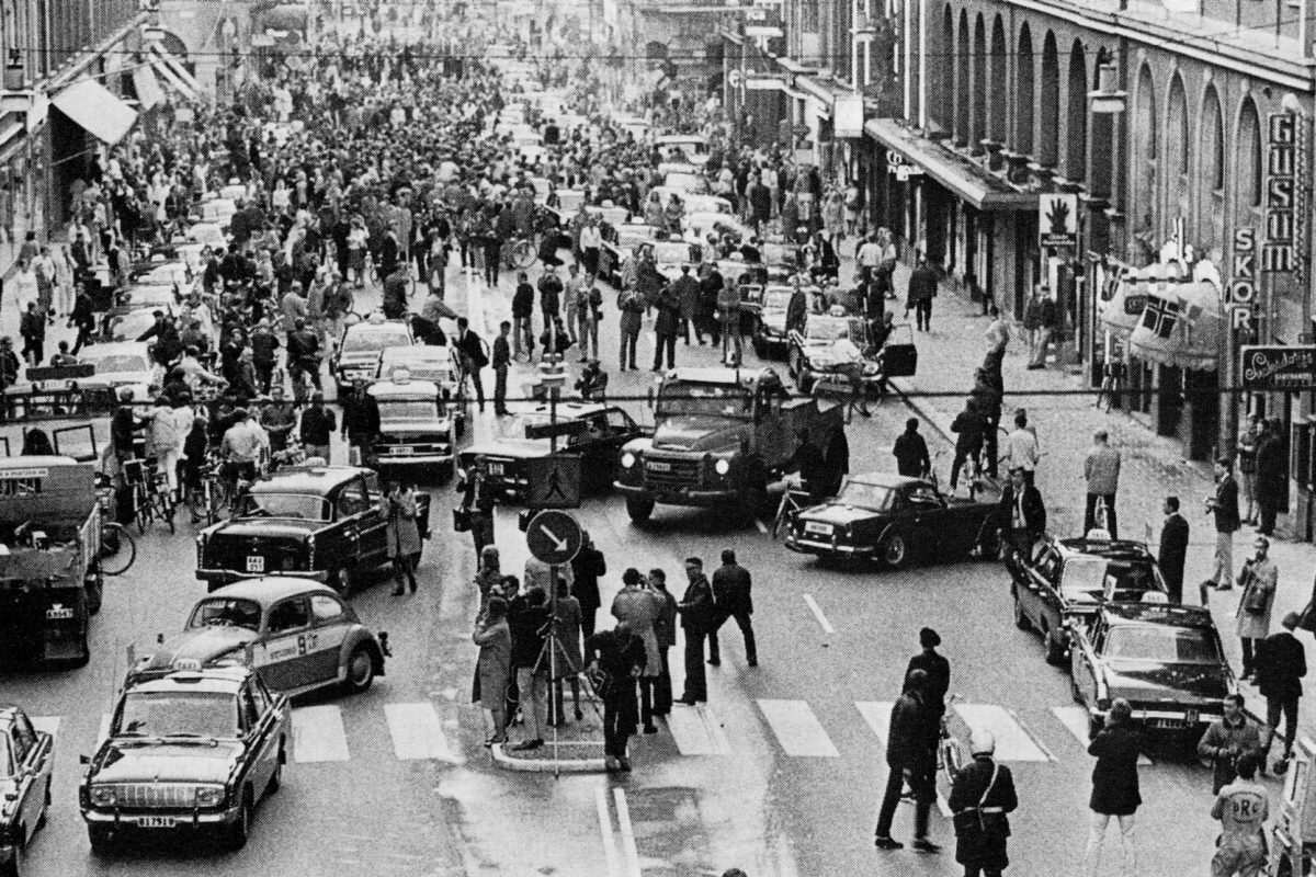 Will The Government Ignore The EU Referendum Result? H day Kungsgatan 1967 1200x800