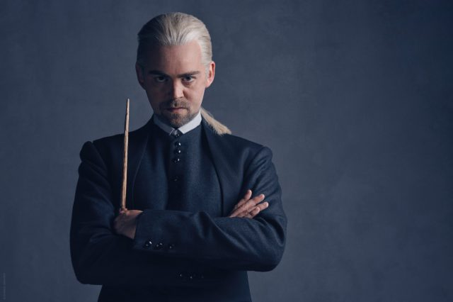 Cast Photos Of Malfoy In New Harry Potter Reveal Dramatic New Look HP 20274 Draco FL 640x426