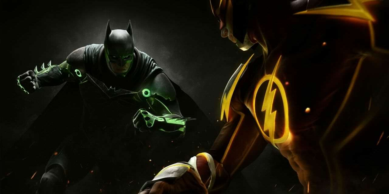 Injustice 2 Gameplay Trailer Is The Stuff Of Comic Book Dreams Injustice 2 Batman v Flash