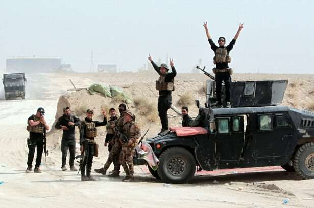 ISIS Suffer Massive Blow In Bid To Control Iraq, As Country Fights Back Iraqi pro government forces