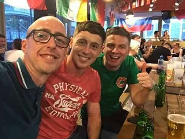 Ireland Fan Loses Ticket Saving Mans Life, What Happens Next Is Incredible Ireland fans 2