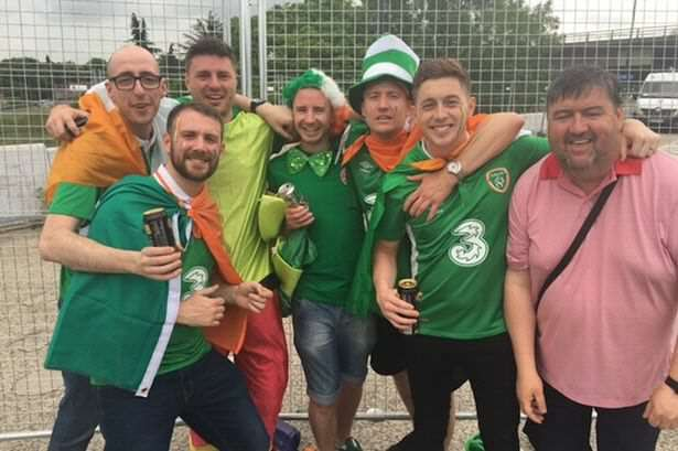 Ireland Fan Loses Ticket Saving Mans Life, What Happens Next Is Incredible Ireland fans