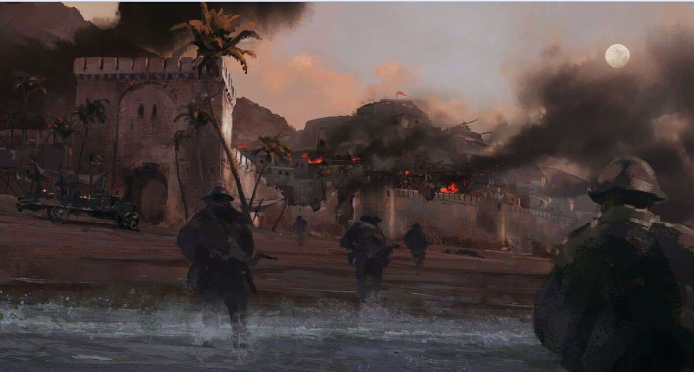 Check Out This Gorgeous Battlefield 1 Concept Art K2vrMTO