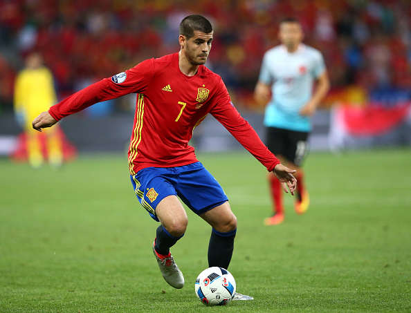 Arsenal Willing To Double Wage Of World Class Striker Morata Spain Getty