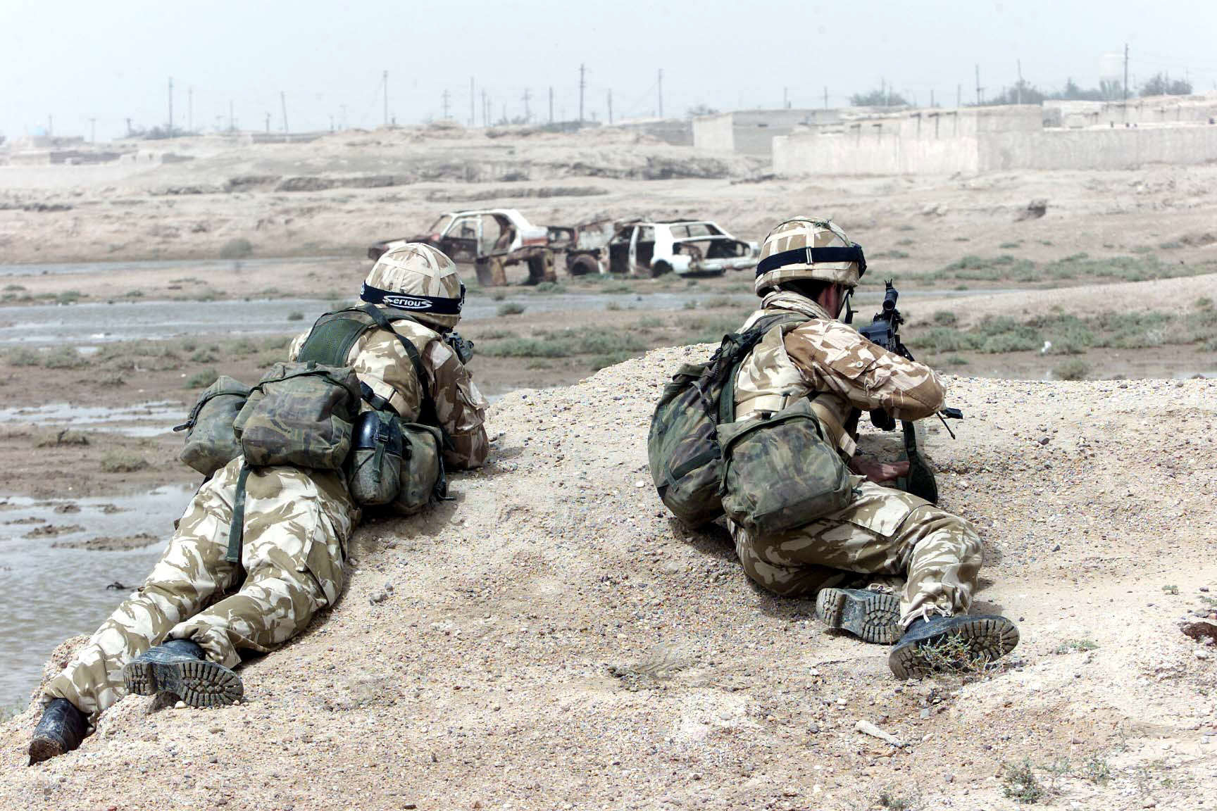 SAS Sniper Kills Two ISIS Militants With One Shot PA 1715357