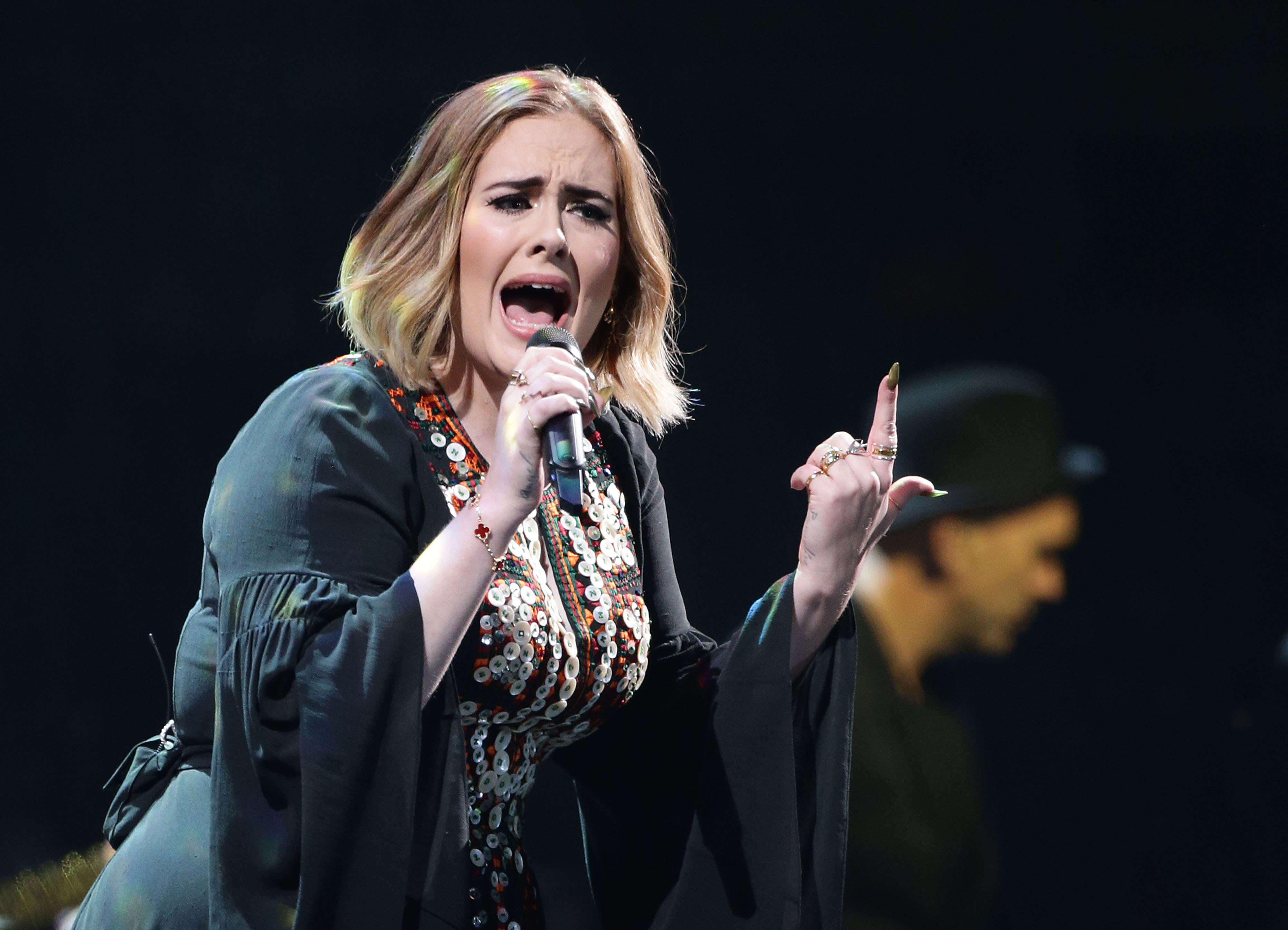 Adeles Foulmouthed Glastonbury Set Caused Quite A Stir Online PA 26726480