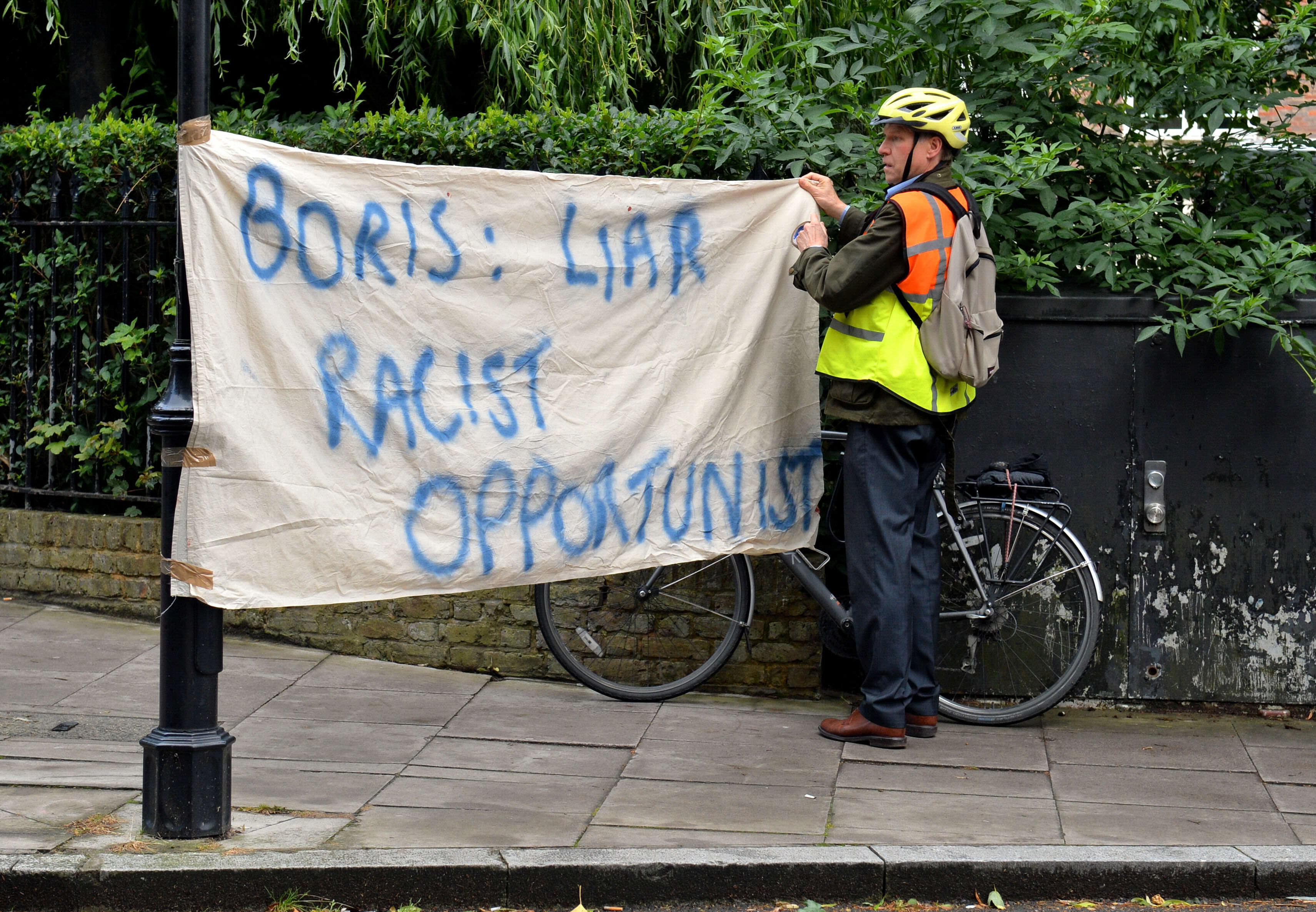 Conspiracy Theory Emerges About Why Boris Johnson Has Ruled Out Being PM PA 26749402