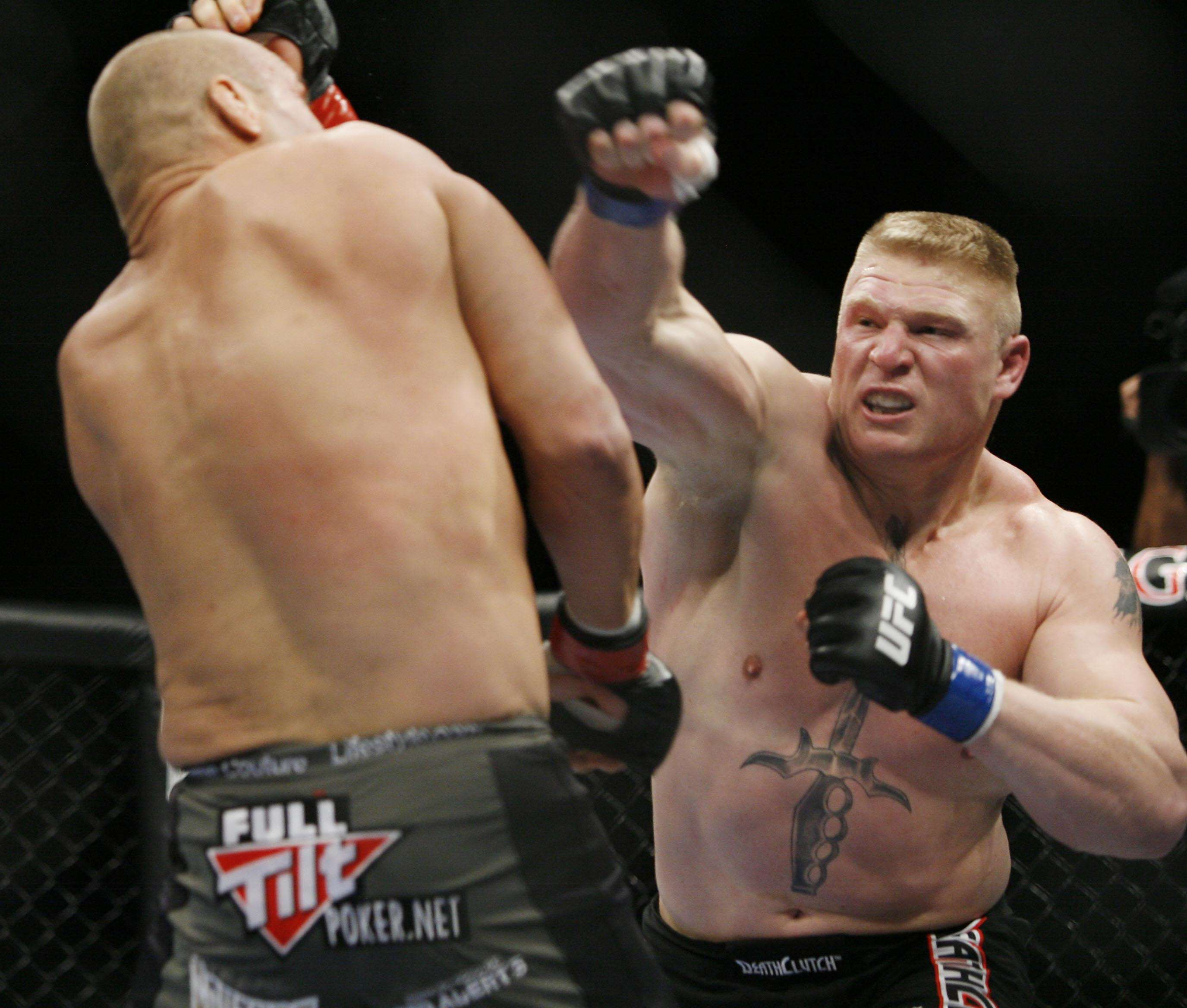 Brock Lesnar Shares Thoughts On UFCs Biggest Draw Conor McGregor PA 6559015