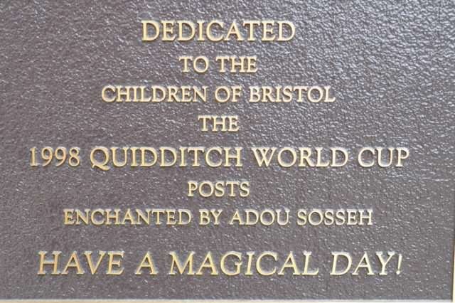 The Touching Mystery Of The Secret Harry Potter Plague SWNS QUIDDITCH PLAQUE 02 640x426