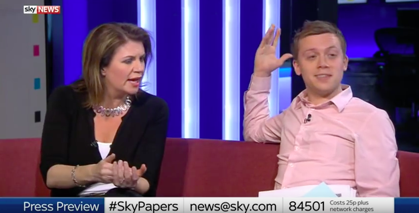 Journalist Storms Off Sky News Over Orlando LGBT Comments Screen Shot 2016 06 13 at 08.53.19