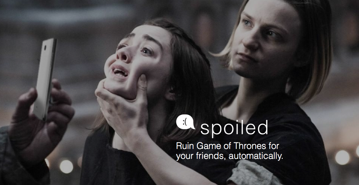 This App Sends Anonymous Game Of Thrones Spoilers To Your Enemies Screen Shot 2016 06 23 at 15.52.39