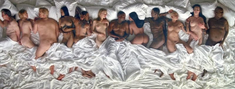 Kanye Wests New Music Video Features Naked Taylor Swift Screen Shot 2016 06 24 at 11.13.10 PM