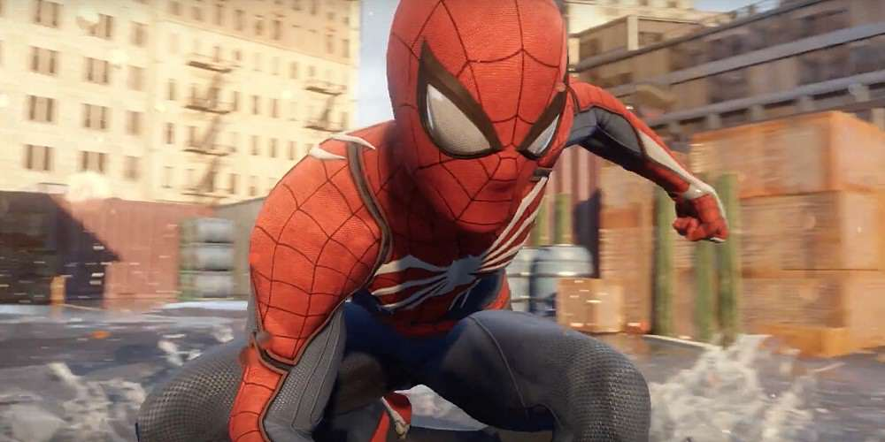 Spider Man Game Coming From Ratchet & Clank Devs Sony PS4 Spider Man Game Insomniac Games