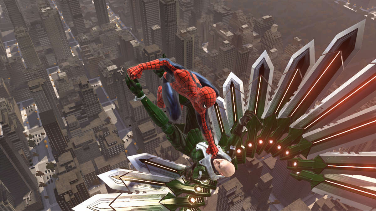 What Makes A Truly Great Superhero Game? Spider man Web of Shadows 1