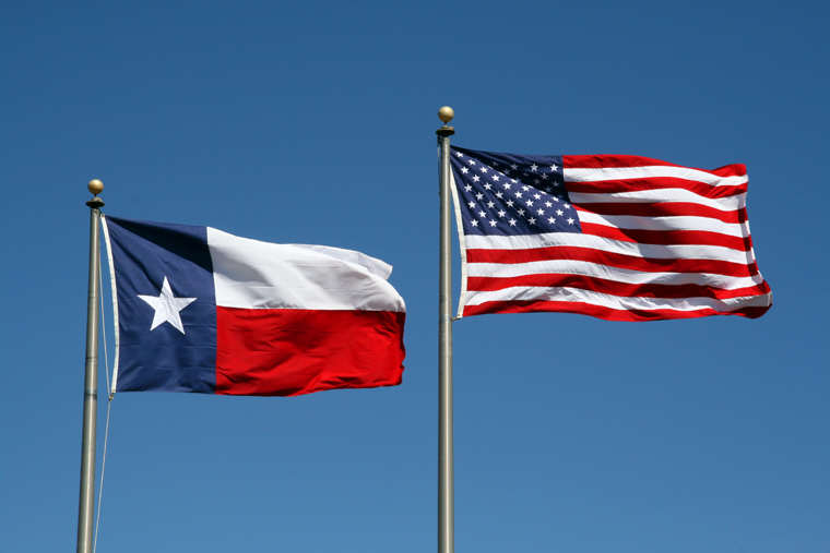 Brexit Has Inspired This State To Consider Leaving The U.S. TX US Flags