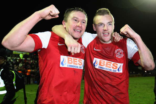 Fleetwood Town Have Epic Reason For Supporting Vardys Move To Arsenal Vardy Fleetwood Getty