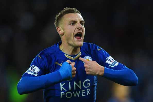 Arsenal Face Massive Competition From Rival For Vardy Vardy Getty 2