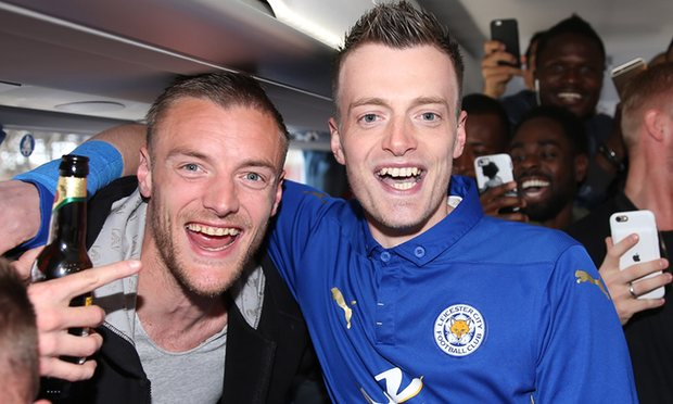 Jamie Vardys Wife Reveals Real Reason They Blocked Lookalike Vardy Lookalike Getty