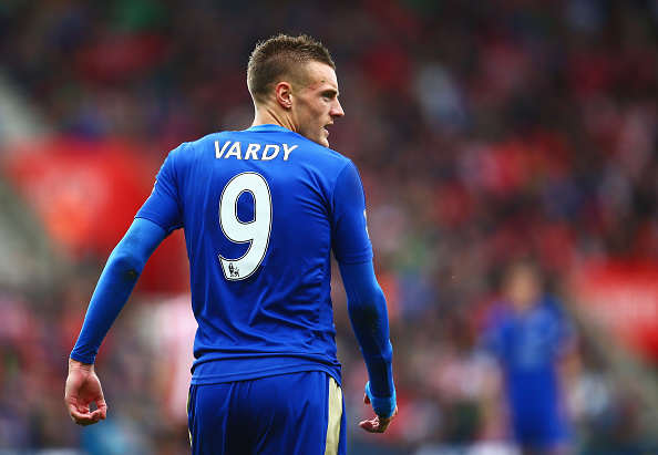 Arsenal Fans Go Crazy As Vardy Opts To Stay At Leicester Vardy getty 1