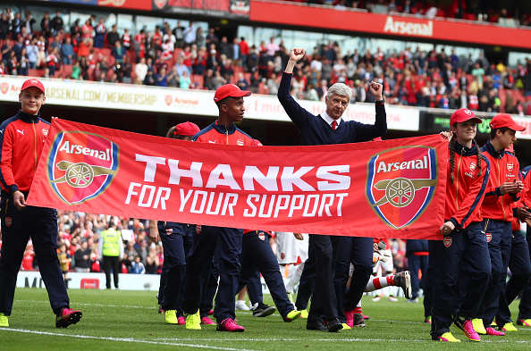 Wengers Stay At Arsenal Plunged Into Doubt After Sensational FA Approach? Wenger Getty End of season
