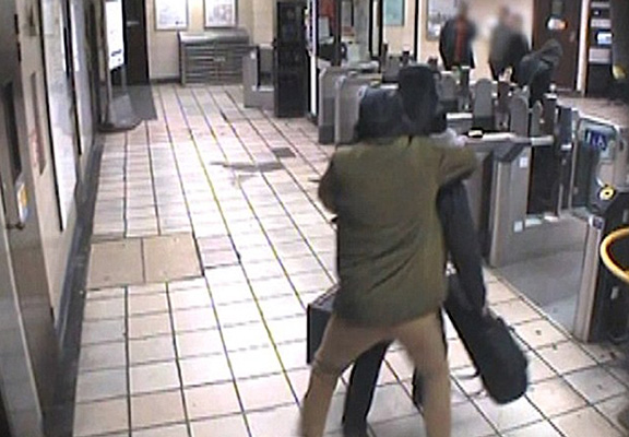 New CCTV Shows Knife Attacker Trying To Decapitate Tube Passenger attack web thumb