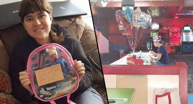 Internet Delivers In Massive Way To Autistic Girl Who ... | 800 x 431 jpeg 47kB