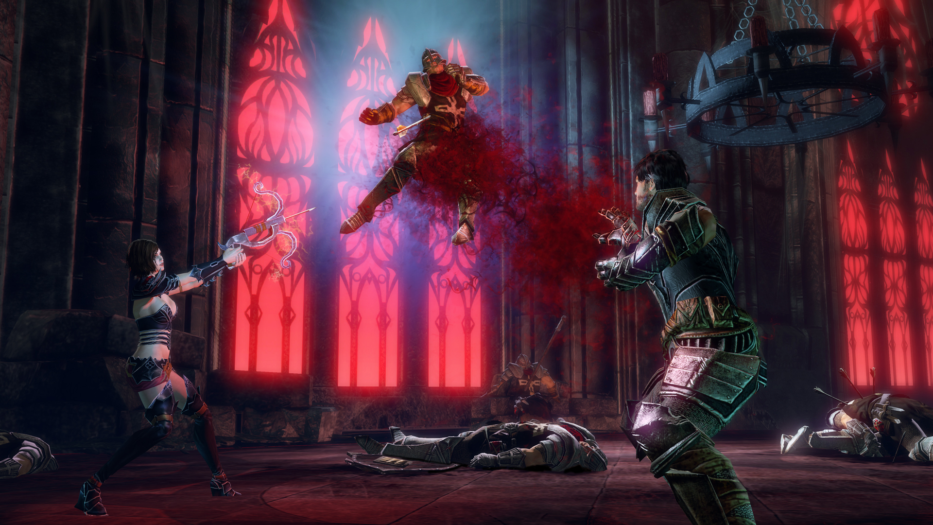 Xbox One Gets Eight More Backwards Compatible Games blood knights screenshot signature lift draw blood cathedral