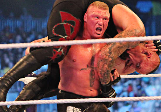 A Huge Name Is Coming Out Of Retirement For UFC 200 brock lesnar wt wikimedia