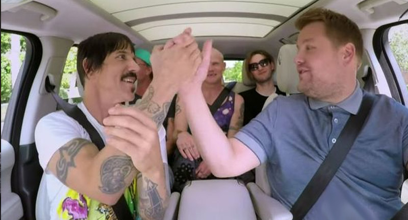 Red Hot Chilli Peppers on Carpool Karaoke