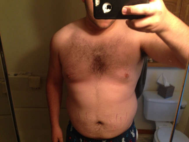 Man Loses 100lbs In Less Than A Year, Heres How He Did It change7