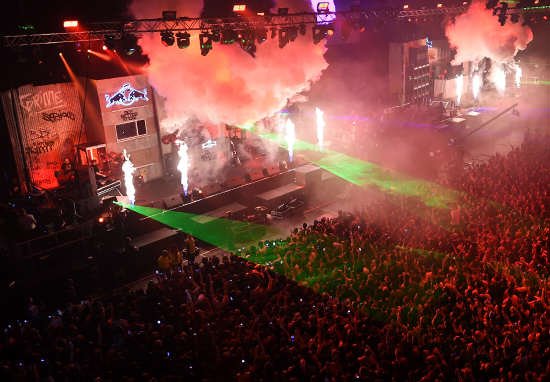 WATCH NOW as Red Bull Culture Clash kicks off live in London culture clash wt 1