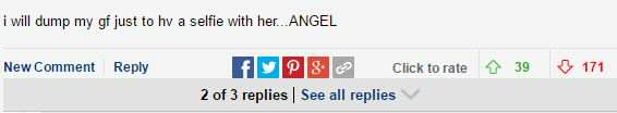 Kendal Jenner Reveals Nipples Again And Daily Mail Readers Go Into Creepy Meltdown daily mail comment 2