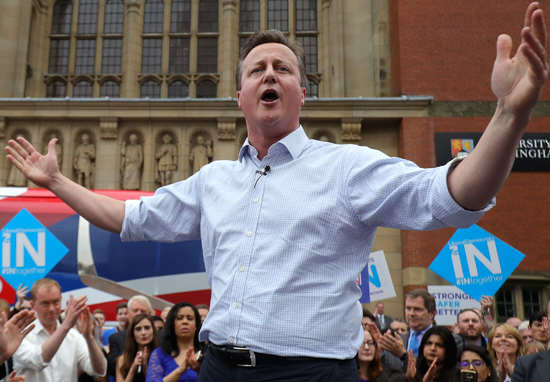 Will The Government Ignore The EU Referendum Result? david cameron wt