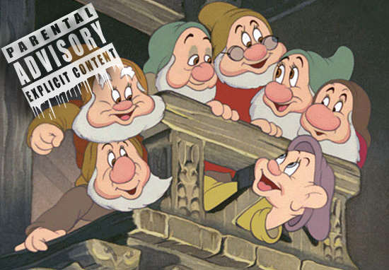 Disney Rejected These Dwarfs From Snow White For Being Too Offensive dwarfs1 1
