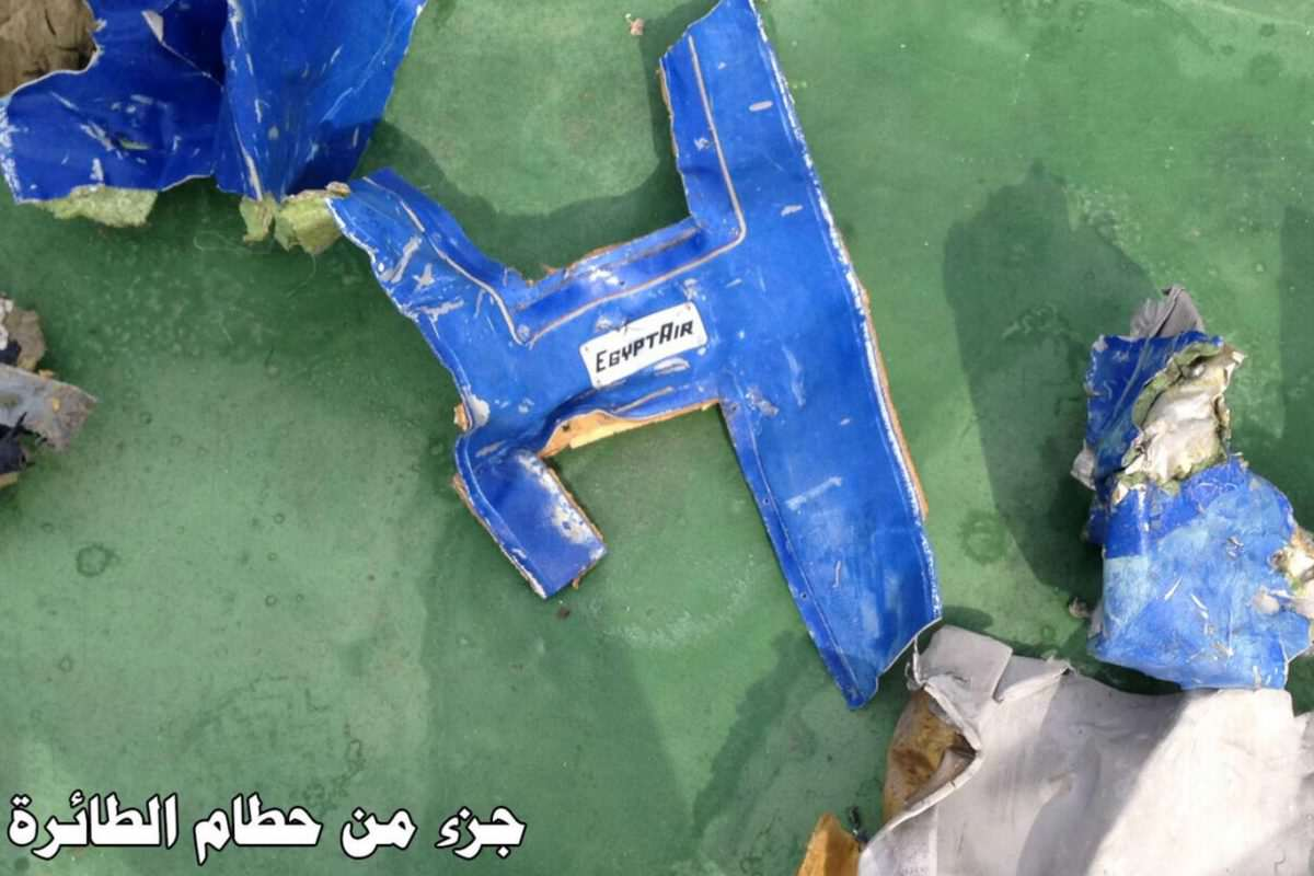 Missing EgyptAir MS804 Black Box Reveals Likely Cause Of Crash egyptair wreckage 2 1 1200x800