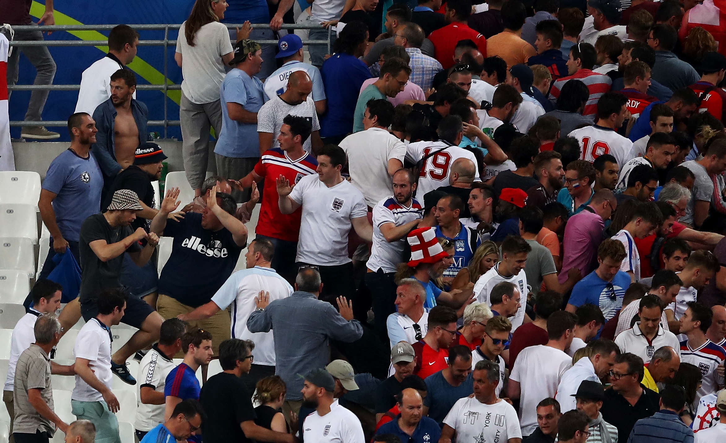 Vladimir Putin Shamelessly Mocks England Fans Beaten Up By Russian Hooligans euro16fight33 2 1 1