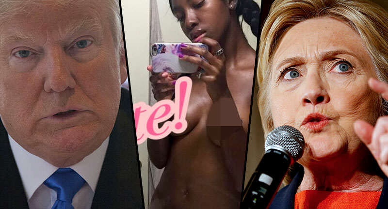 This Group Is Sending Nudes To People Who Hate Trump face trump