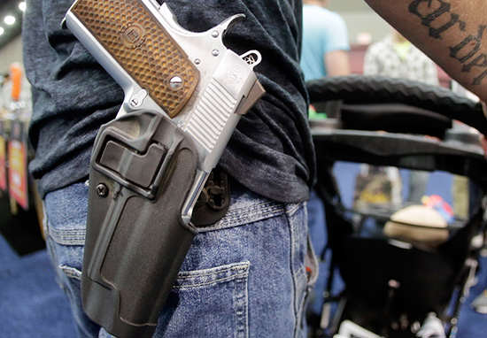 Supreme Court Upholds Stricter Gun Control Laws For Domestic Abusers gun1