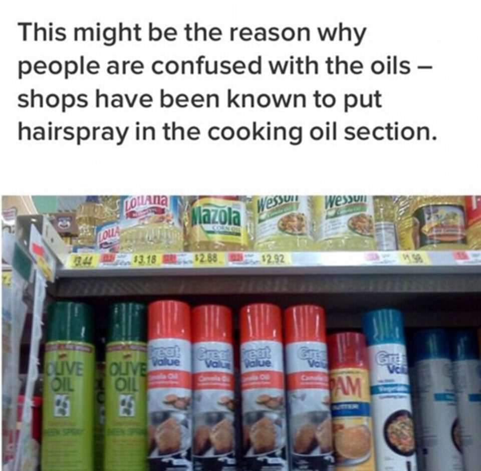 People Have Been Cooking With This Hairspray After Weird Mix Up hair5