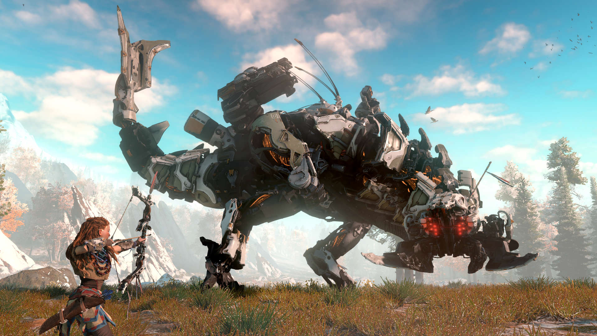 Horizon Zero Dawn Gets Eight Minutes Of Breathtaking Footage horizon zero dawn screen 01 us 15jun15