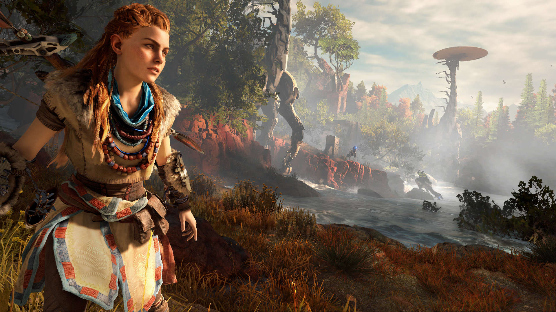 Horizon Zero Dawn Gets Eight Minutes Of Breathtaking Footage horizon zero dawn screen 04 us 15jun15