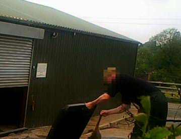 Hideous Video Shows Fox Cubs Being Put In Hunting Dogs Kennel For Training hunt 3