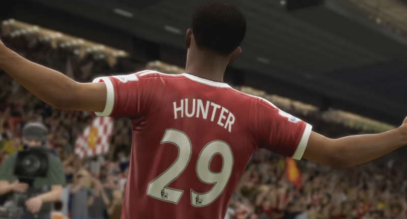 EA Announce FIFA 17 Story Mode The Journey hunterfacebook