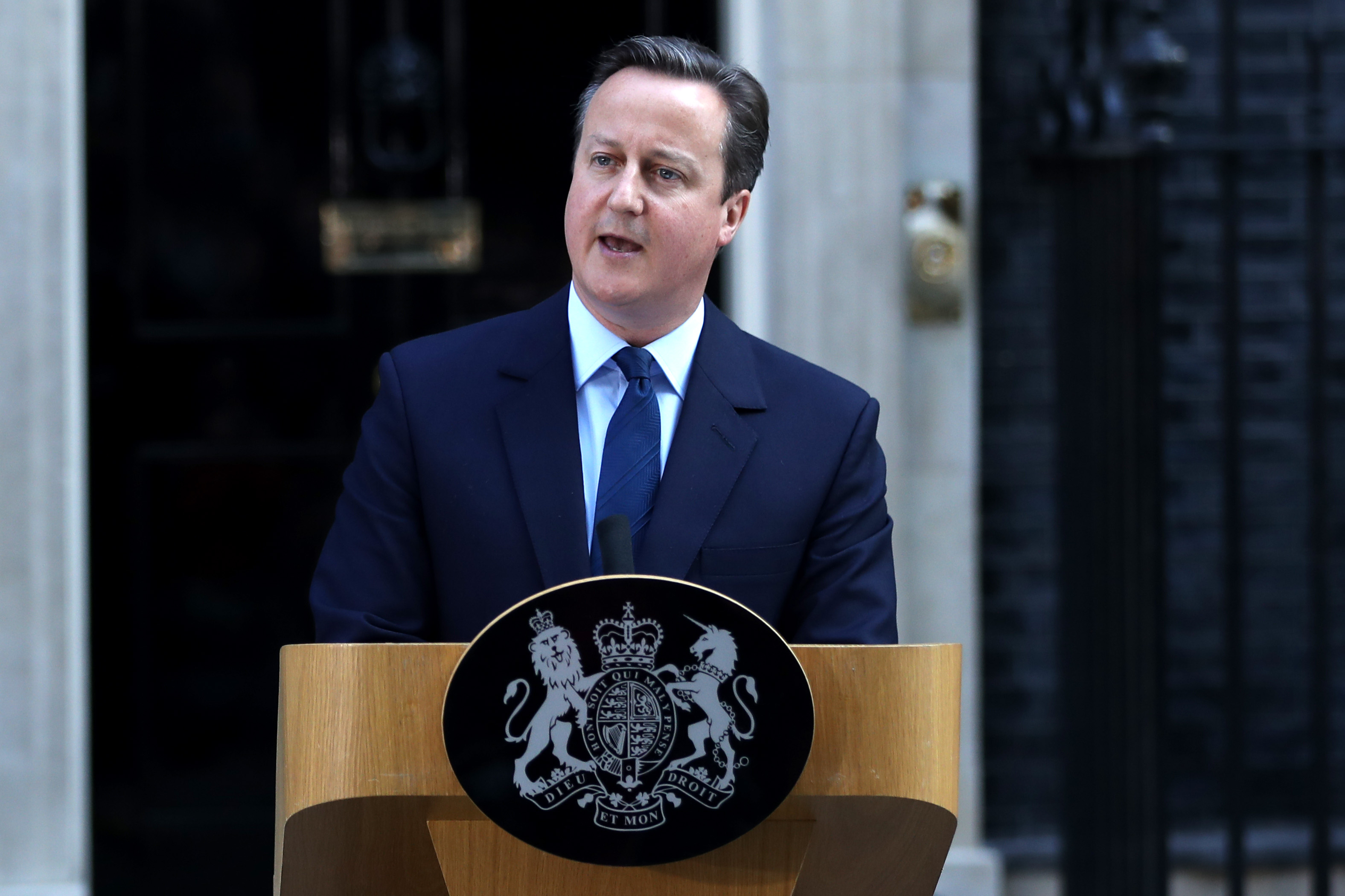 David Cameron Resigns After EU Referendum Result