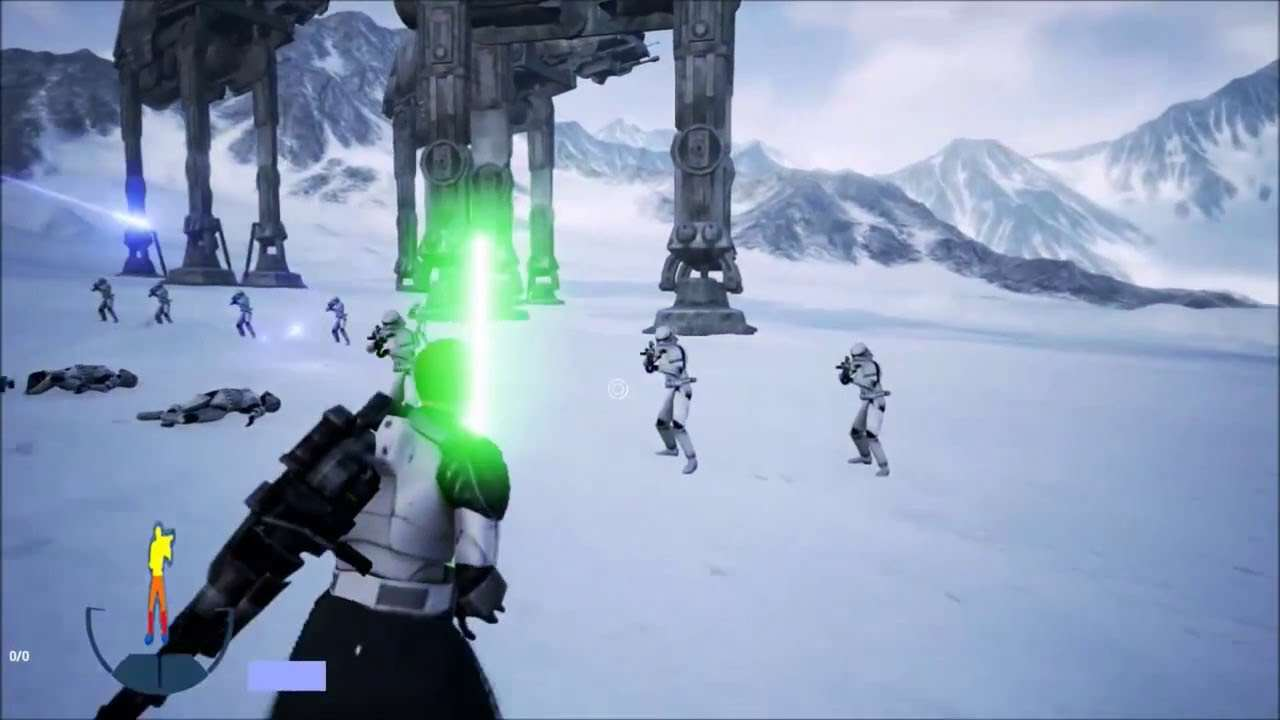 Great News For The Star Wars Battlefront 3 Fan Remake maxresdefault 7