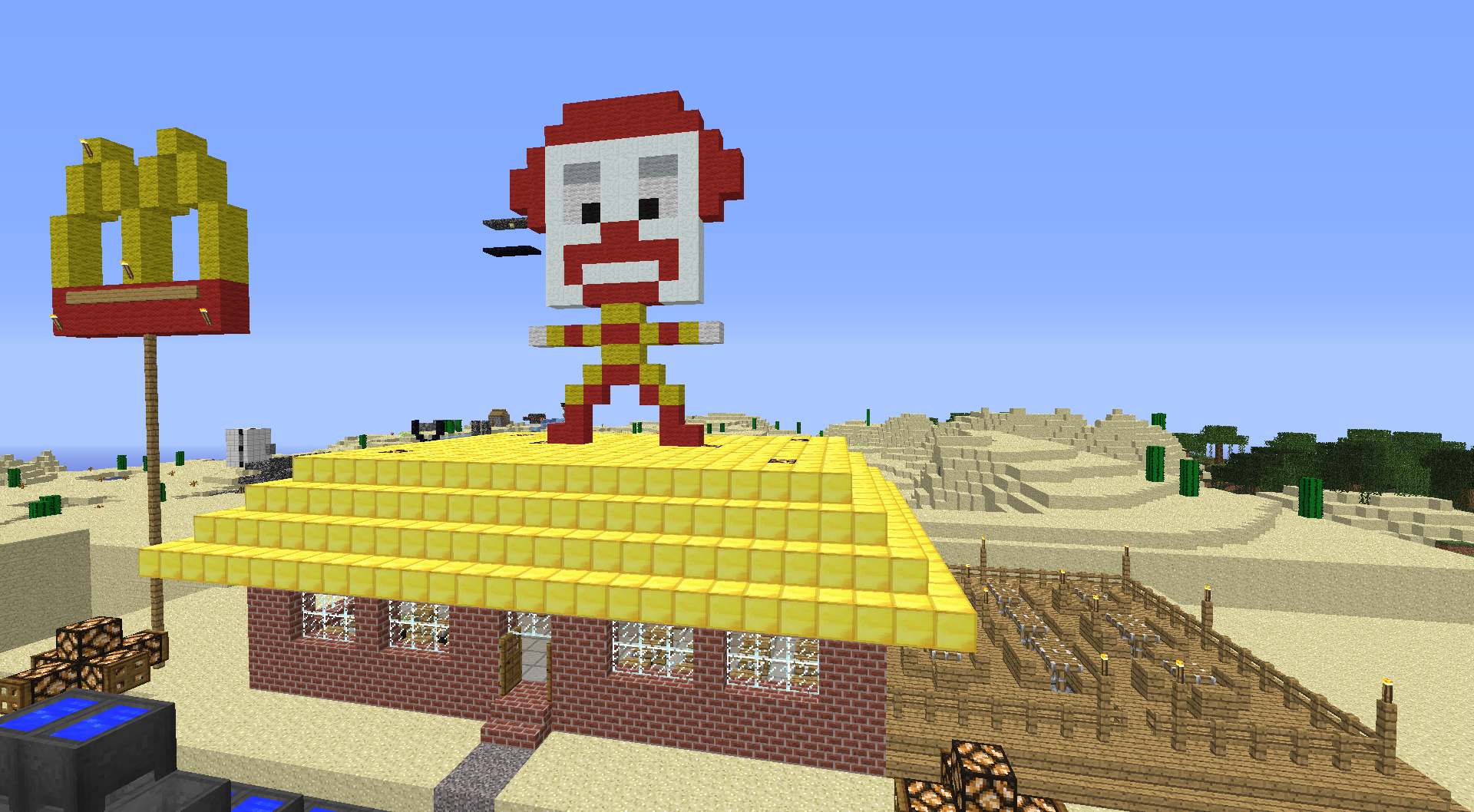 Minecraft Detail New Rules For Companies Advertising In Game mcdonald  s by blizzardicus d4tqpru