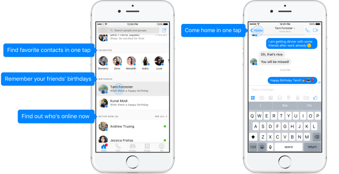 Heres What Your New Facebook Messenger Inbox Is Going To Look Like new Messenger service
