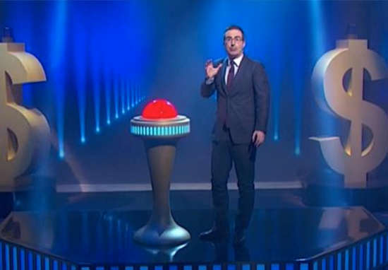 John Oliver Makes TV History With Astounding Act Of Charity oliver1