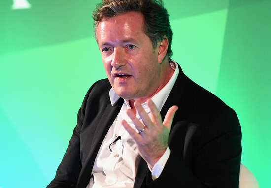 Piers Morgan Thinks Muhammad Ali Was More Racist Than Donald Trump piers morgan wt Getty